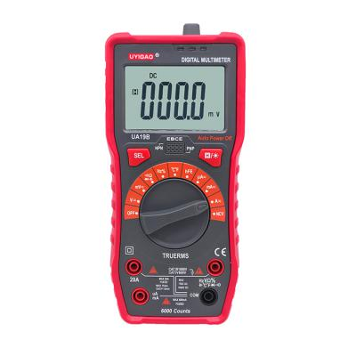 UA19B digital multimeter with multifunction tester