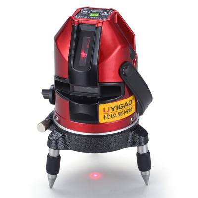 laser level 3 line red green color beam