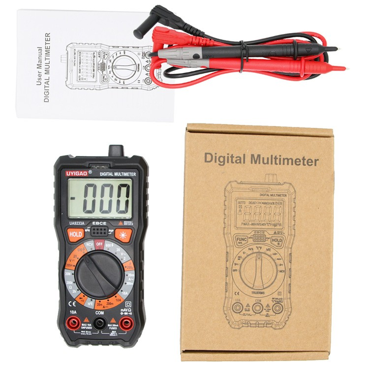 ua9233a mini digital multimeter