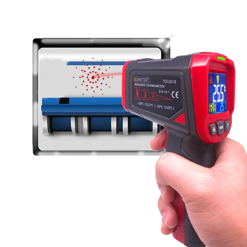 TDC601B infrared thermometer 550C