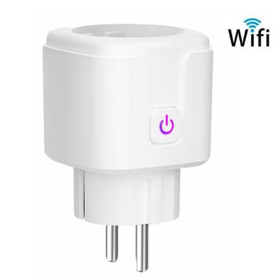 EU Standard Socket Alexa Smart Socket WiFi Phone Timing Switc